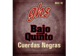 GHS Cuerdas Negras for bajo quinto
