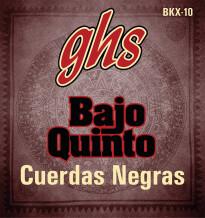 GHS Bajo Quinto Cuerdas Negras