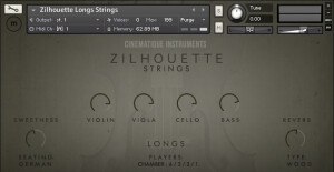 Cinematique Instruments Zilhouette Strings