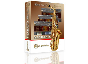 Cmusic Production Saxband Alto Sax