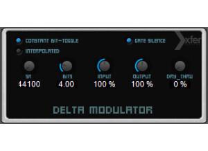 Xfer Records Delta Modulator