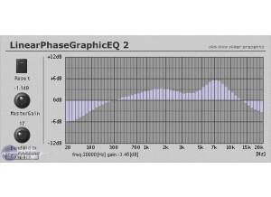 Slim Slow Slider LinearPhaseGraphicEQ 2 [Freeware]