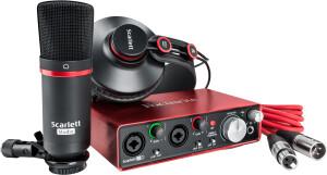 Focusrite Scarlett2-2i2 Studio Pack