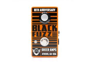 Greer Amplification Black Fuzz 18th Anniversary
