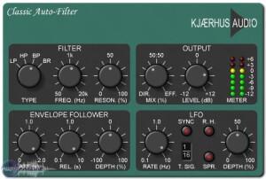 Kjaerhus Audio Classic Auto-Filter [Freeware]