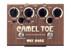 Way Huge Electronics WHE209 MKII Camel Toe Triple Overdrive