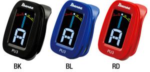 Ibanez PU3 Clip Tuner