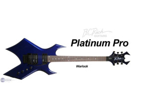 B.C. Rich Platinum Pro Warlock