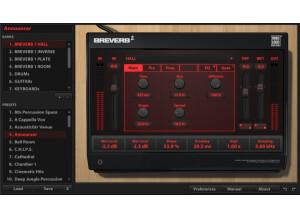 Digital Brain Instruments BREVERB 2