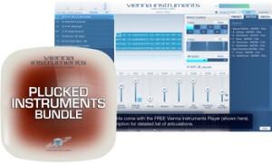 VSL (Vienna Symphonic Library) Plucked Instruments Bundle - Standard Library