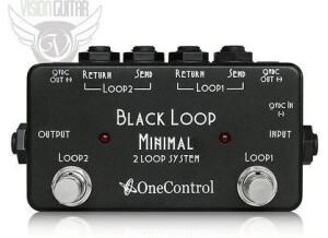 One Control Black Loop Minimal