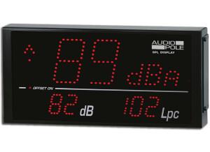 Audiopole SPL Display