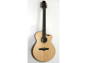 Brunner Guitars B Big with double bevel and soundhole
