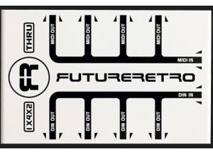 Future Retro 1x4x2 MIDI / Din Thru Box