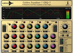 Kjaerhus Audio Golden Equaliser   GEQ-7