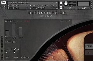 Cinematique Instruments Deconstructed Piano
