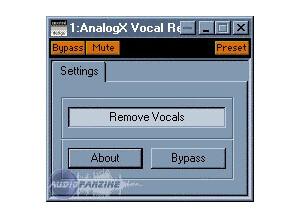 AnalogX Vocal Remover [Freeware]