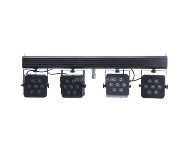 Lightmaxx Platinum CLS-3 QUAD-LED incl. Commande IR, 28x8W RGBW