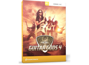 Toontrack Metal Guitar Gods 4 EZmix Pack