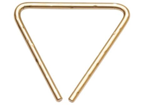 "Sabian Hand Hammered B8 Bronze Triangle 4"""