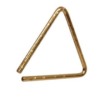 "Sabian Hand Hammered B8 Bronze Triangle 9"""