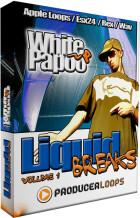 Producer Loops White Papoo Liquid Breaks Volume 1
