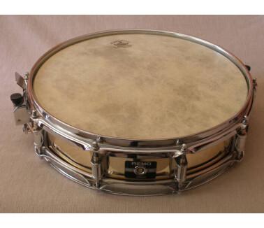 """Remo Mastertouch Brass Piccolo 3.5 x 14"""" Snare"""