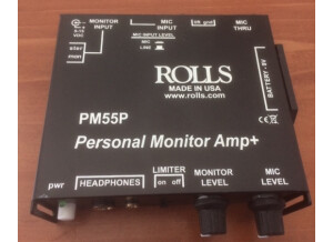 Rolls PM55P Personal Monitor Amp+