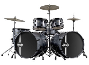 Ddrum Defiant Double Bass Drum Set Shell Kit