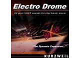Banque Electro Drome pour Kurzweil PC3 et Forte