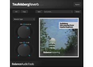 Balance Mastering Teufelsberg Reverb