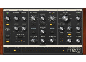 Universal Audio Moog Multimode Filter Collection