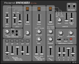 K Brown Synth Plugins Rolend SH-3p