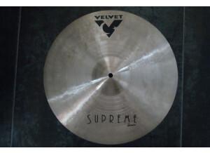"Velvet Cymbals Supreme Crash 16"""