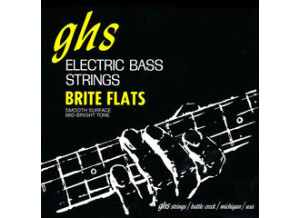 "GHS Brite Flats Short Scale (32.75"" winding)"