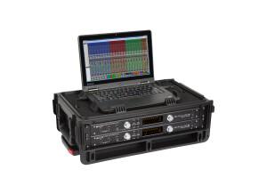 SKB Injection Molded 2U Studio Flyer Rack Case