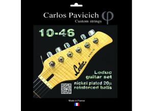 Carlos Pavicich Custom Strings Leduc Guitar Set