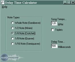 Ian Price Delay Time Calculator
