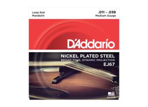 D'Addario Nickel Plated Mandolin