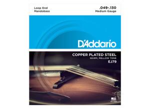 D'Addario Copper Plated Steel Wound Mandobass