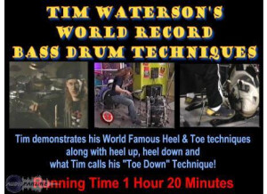 Wfd Videos Tim Waterson's World Record Bass Drum Techniques DVD