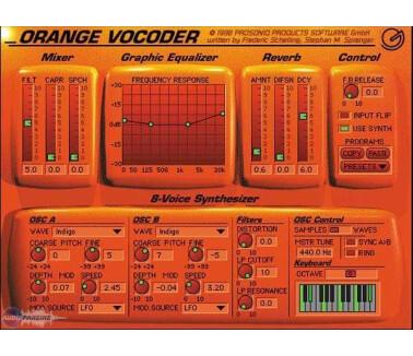 Prosoniq Orange Vocoder