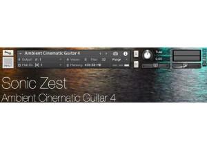 SonicZest Ambient Cinematic Guitar 4