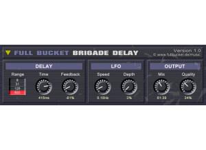 Full Bucket Music Brigade Delay