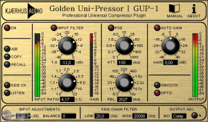Kjaerhus Audio Golden Uni-Pressor GUP-1