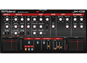 Momo JX-03 Editor