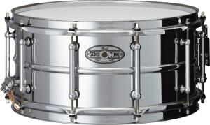 "Pearl SensiTone Beaded Steel Snare 14x6.5"""