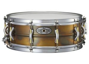 "Pearl SensiTone Premium Beaded Brass Snare 14x5"""
