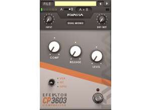 Kuassa Efektor CP3603 Compressor