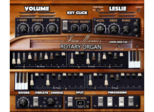 Adam Monroe Music Rotary Organ